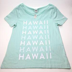 NWT Victoria Secret PINK Hawaii Tee